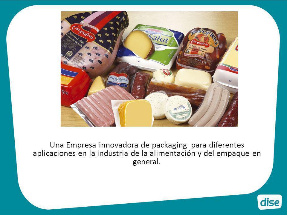 Una Empresa innovadora de packaging para diferentes aplicaciones en la industria de la alimentación y del empaque en general.