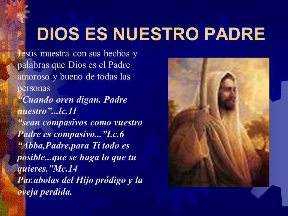 EL DIOS DE JESUCRISTO Los cristianos descubren a Dios a través de Jesucristo porque es Dios mismo hecho hombre. Nadie ha visto jamás a Dios; el Hijo d