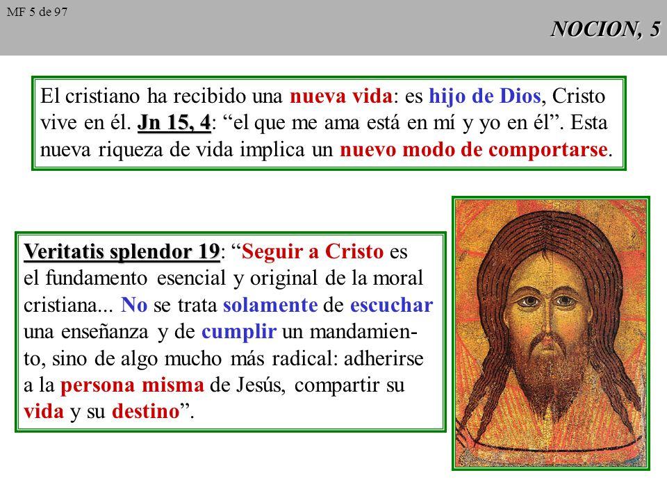 NOCION, 4 Diferencias entre Etica filosófica y Moral cristiana: 1 2 3 Método Método: la filosofía argumenta sólo desde la razón, mientras que la teolo