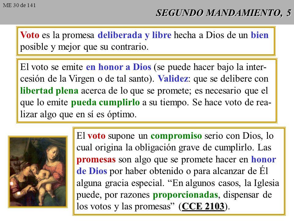 SEGUNDO MANDAMIENTO, 4 San Agustín Jurar es tomar a Dios por testigo de la verdad. San Agustín: jurar Sermón es devolver a Dios el derecho que tiene a