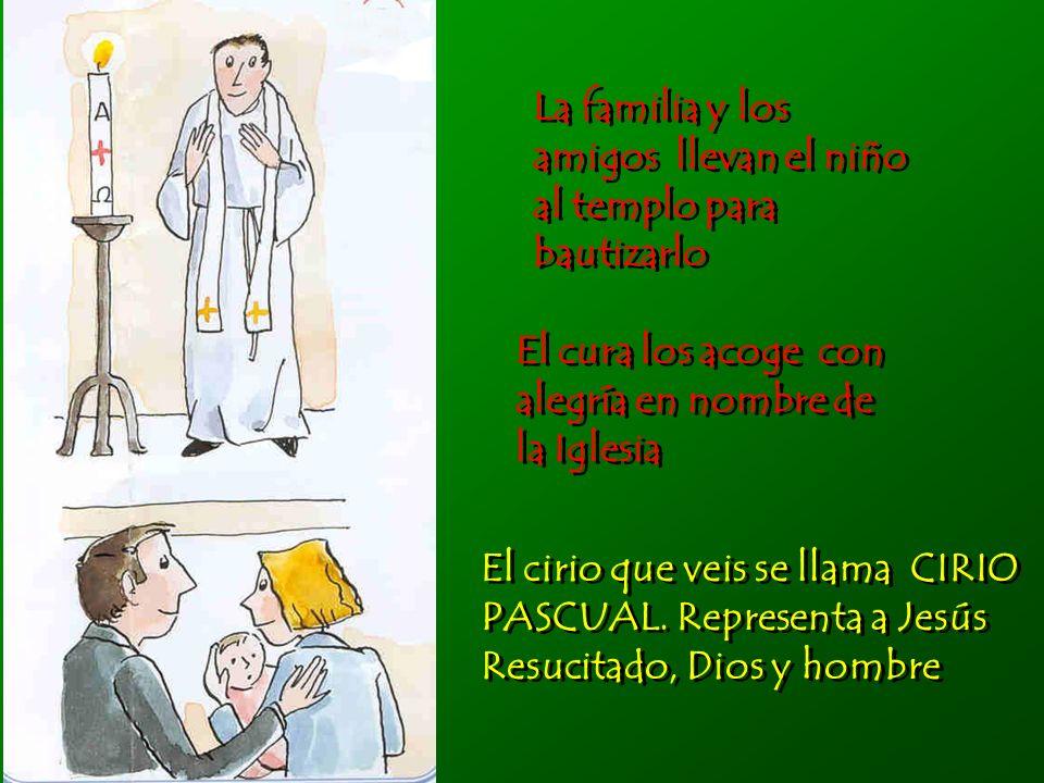 Juntos escuchamos la Palabra de Dios Juntos escuchamos la Palabra de Dios El cura lee en el evangelio el relato del bautismo de Jesús.