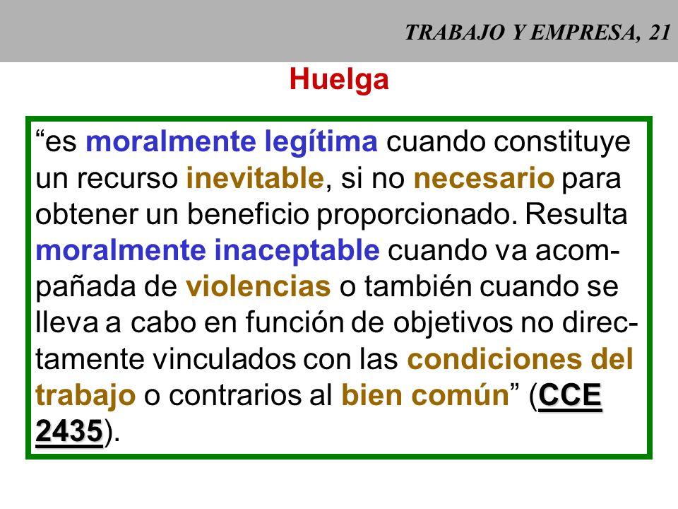 TRABAJO Y EMPRESA, 20 Algunos de los derechos de los traba- jadores que deben ser respetados (II): - horarios de trabajo y descanso domi- nical: oblig