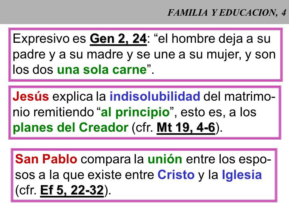 FAMILIA Y EDUCACION, 3 CCE 2203 CCE 2203: Al crear al hombre y a la mujer, Dios instituyó la familia humana y la dotó de su constitución fundamental.