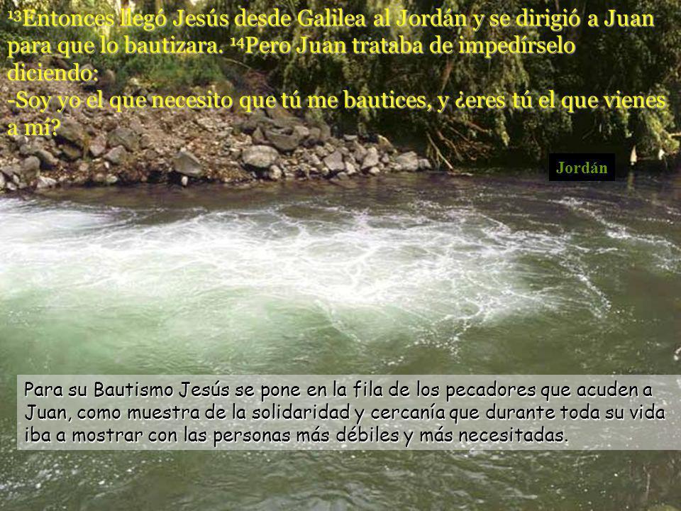 Bautismo de Jesús.