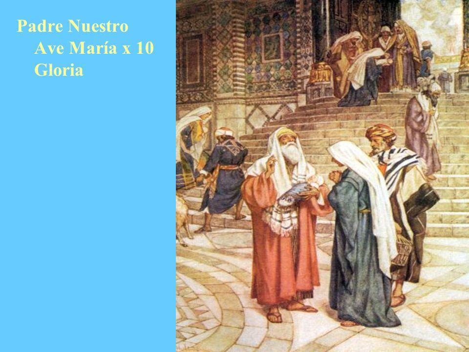 Padre Nuestro Ave María x 10 Gloria