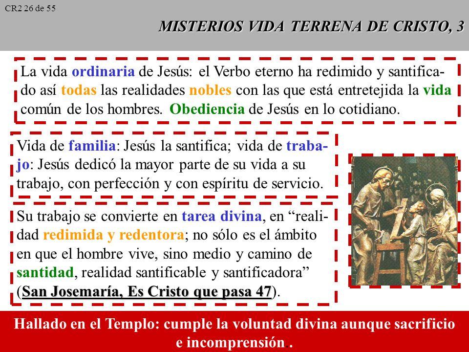 MISTERIOS VIDA TERRENA DE CRISTO, 2 Misterio de Navidad: Ha comenzado la redención, el admirable intercambio por el que el Creador del género humano,