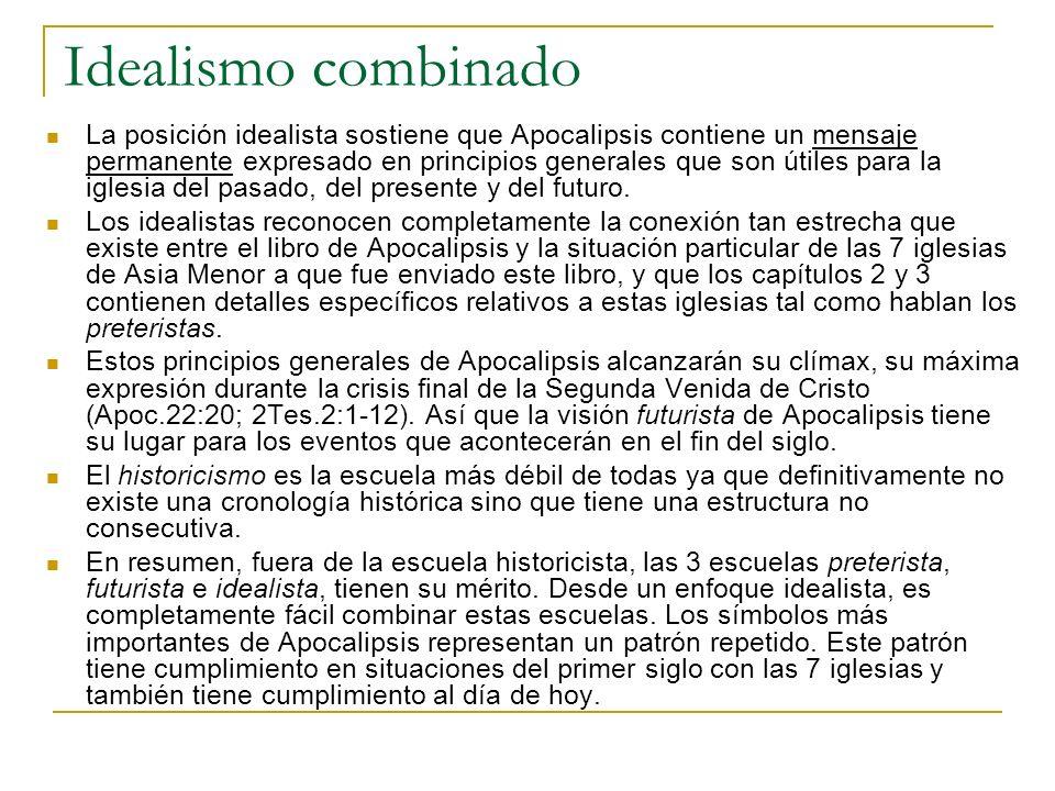 La estructura no consecutiva de Apocalipsis El libro de Apocalipsis se divide de manera natural en siete secciones.
