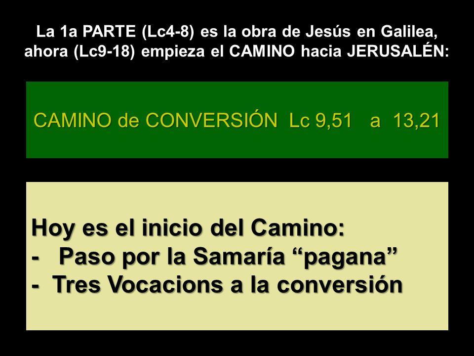 Galilea EL REINO ESTÁ ENTRE VOSOTROS HIJO, TODO LO MÍO ES TUYO Escuchemos Veni Domine con el deseo de seguirlo