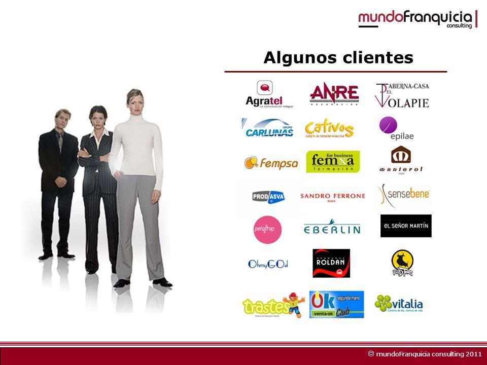 Algunos clientes mundoFranquicia consulting 2011
