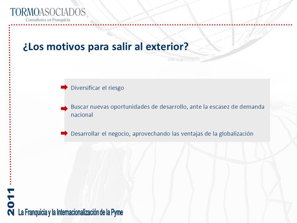 Varios son los factores que contribuyen al aumento de la presencia internacional de la franquicia española: La presencia de múltiples marcas operando en diferentes mercados de forma destacada (DIA, Mango, Telepizza, …) Una buena acogida a nuestras empresas en el exterior.