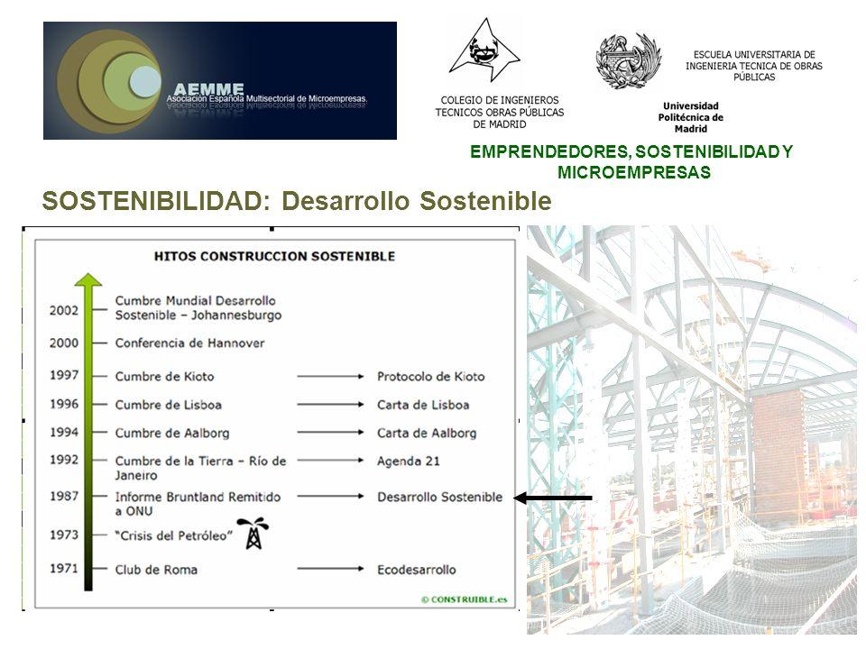 EMPRENDEDORES, SOSTENIBILIDAD Y MICROEMPRESAS SOSTENIBILIDAD: Desarrollo Sostenible