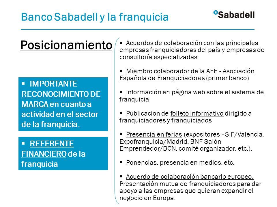 IMPORTANTE RECONOCIMIENTO DE MARCA en cuanto a actividad en el sector de la franquicia. Acuerdos de colaboración con las principales empresas franquic