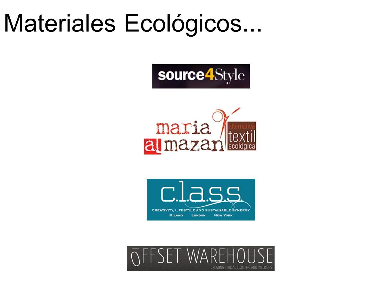 Materiales Ecológicos...