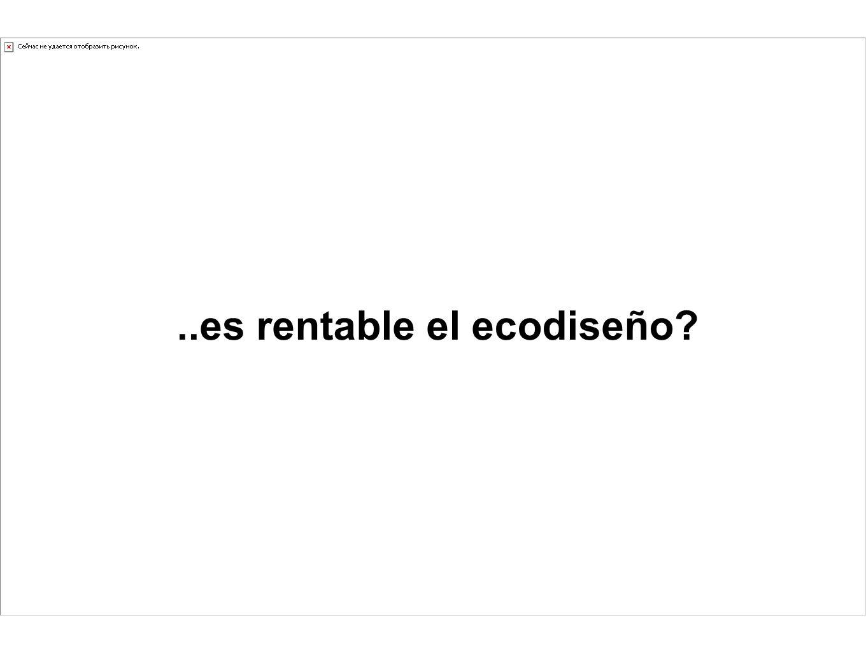 ..es rentable el ecodiseño?
