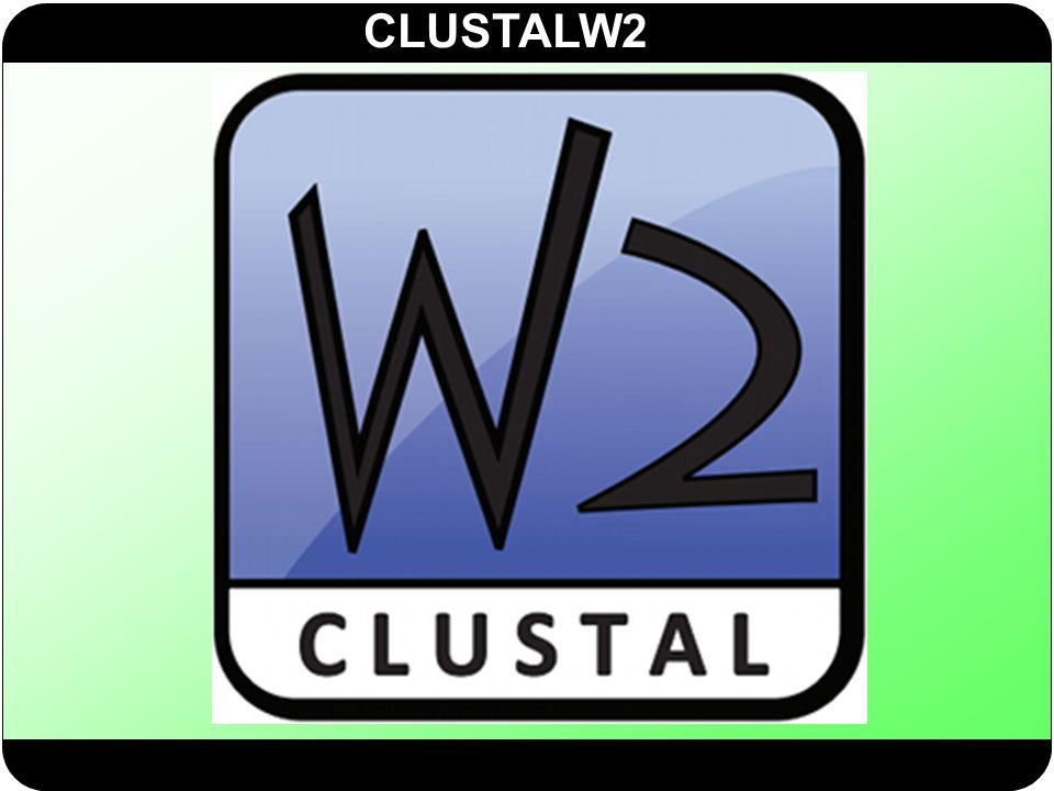 CLUSTALW2