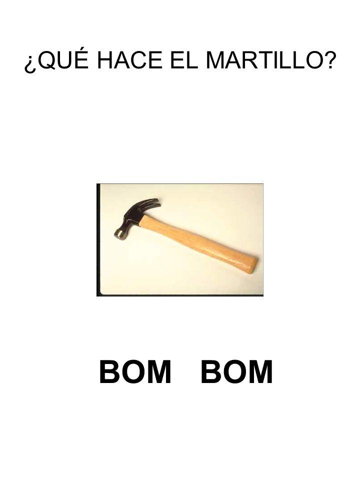 ¿QUÉ HACE EL MARTILLO BOM