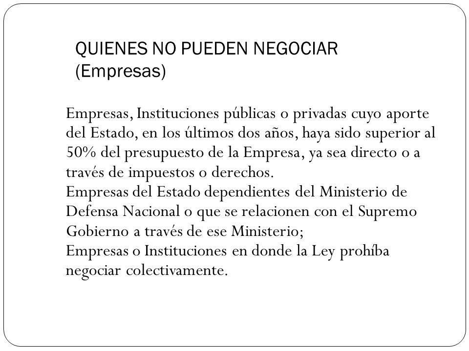 QUIENES NO PUEDEN NEGOCIAR (PERSONAS AFECTADAS POR SU CONTRATO) Según contrato suscrito: (art.