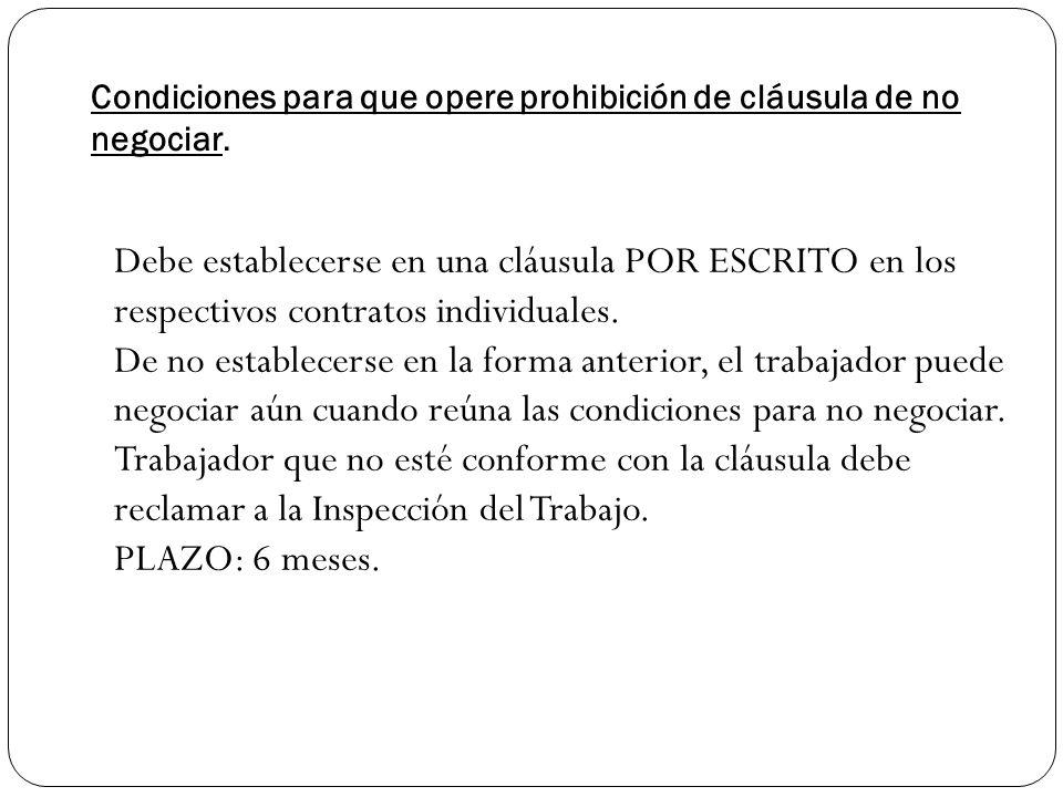 REEMPLAZO TRABAJADORES Prohibido.