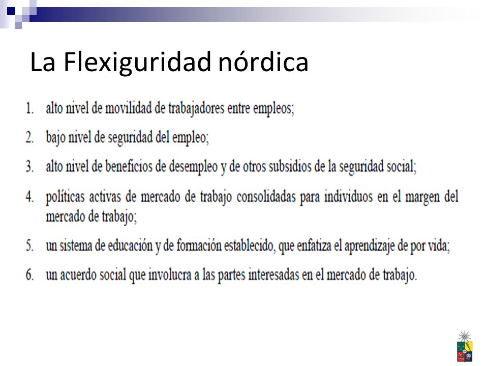 La Flexiguridad nórdica