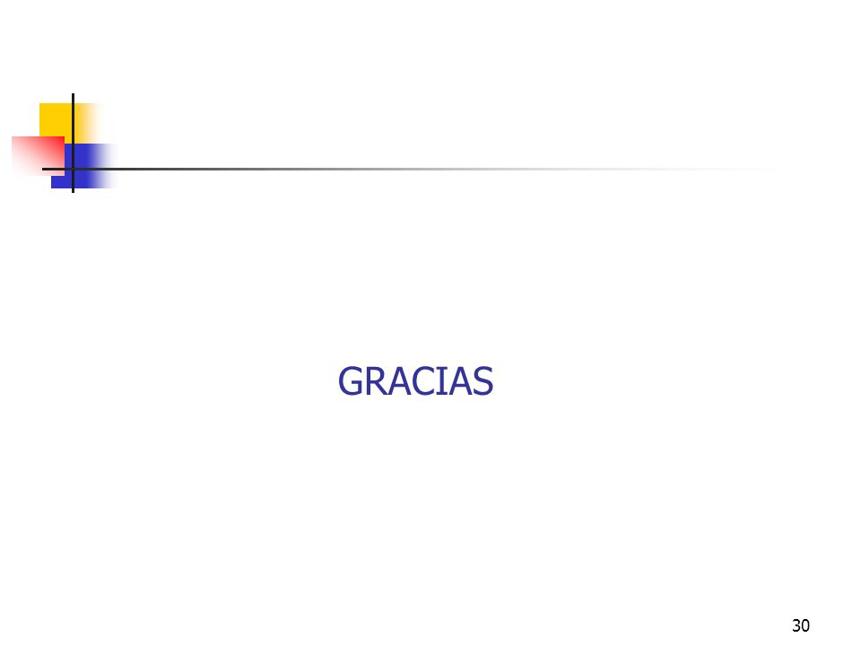 30 GRACIAS