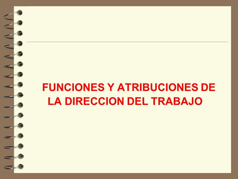DIRECCION DEL TRABAJO DIVISION DE RELACIONES LABORALES SERVICIO ASISTENCIA TECNICA JULIO 2006