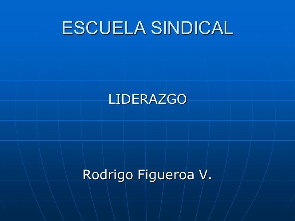 SESION 1 CLAVES PARA ENTENDER LA DINAMICA DEL LIDERAZGO SINDICAL EN EL CONTEXTO ACTUAL DE LA RELACION ENTRE TRABAJO Y SOCIEDAD