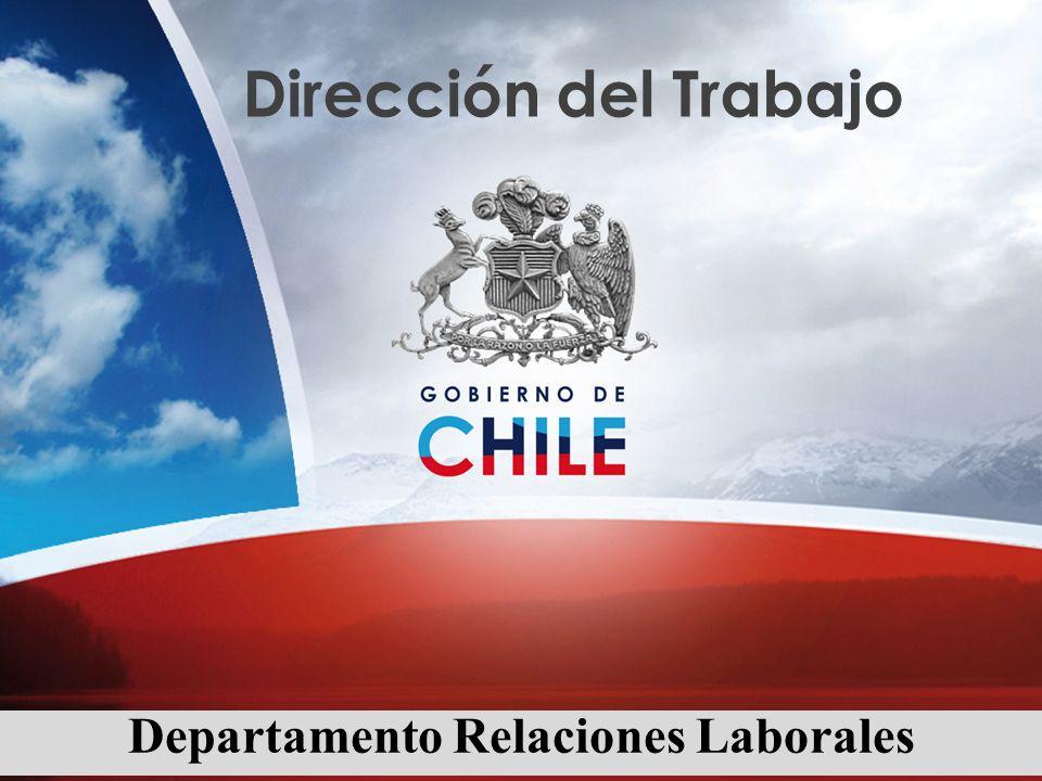 Dirección del Trabajo Departamento Relaciones Laborales