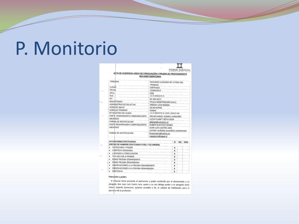 Duración de los juicios Estadísticas Defensoría Laboral (Marzo 2011, Corporación Administrativa del Poder Judicial): -Aplicación general: 71 días.
