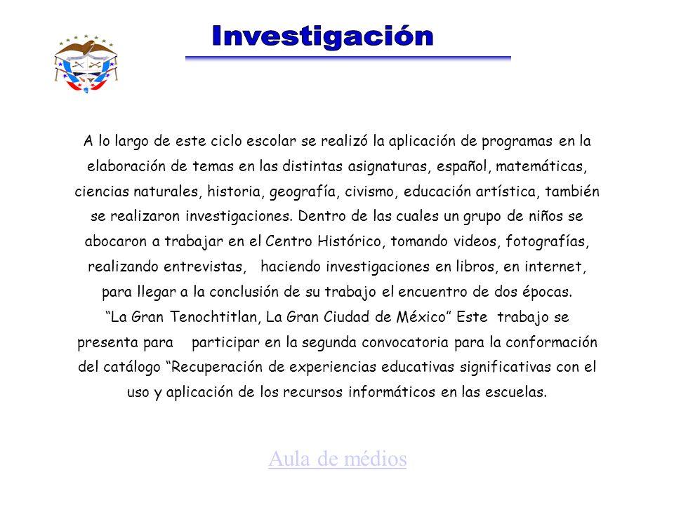 A lo largo de este ciclo escolar se realizó la aplicación de programas en la elaboración de temas en las distintas asignaturas, español, matemáticas,