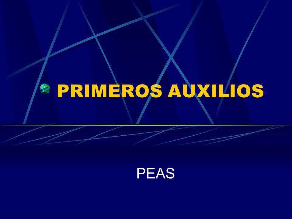 PRIMEROS AUXILIOS PEAS