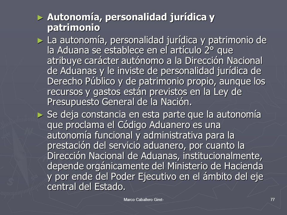 Autonomía, personalidad jurídica y patrimonio Autonomía, personalidad jurídica y patrimonio La autonomía, personalidad jurídica y patrimonio de la Adu