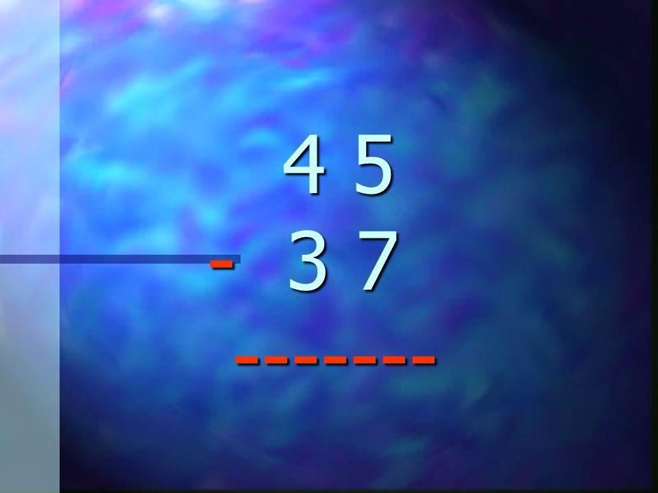 En esta lección aprenderás a restar números de dos dígitos... Fíjate en la siguiente resta: