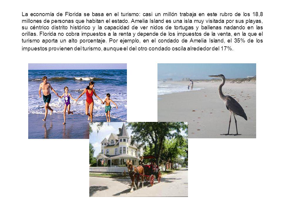 La economía de Florida se basa en el turismo: casi un millón trabaja en este rubro de los 18,8 millones de personas que habitan el estado.