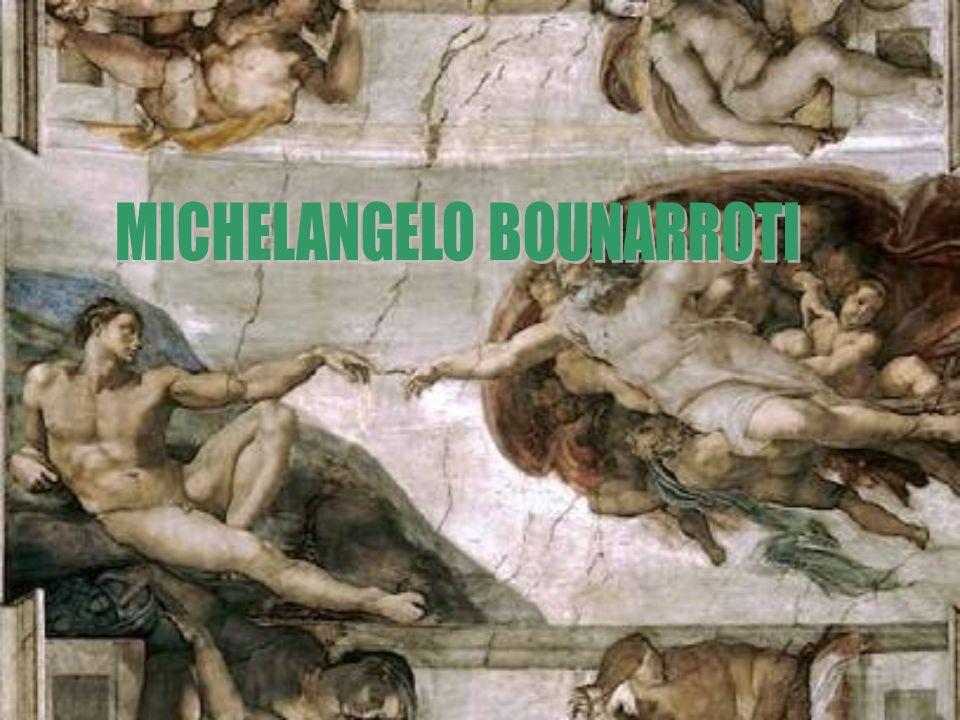 Miguel Ángel o Michelangelo Buonarroti (1475- 1564), uno de los mayores creadores de toda la historia del arte y, junto con Leonardo da Vinci, la figura más destacada del renacimiento italiano.