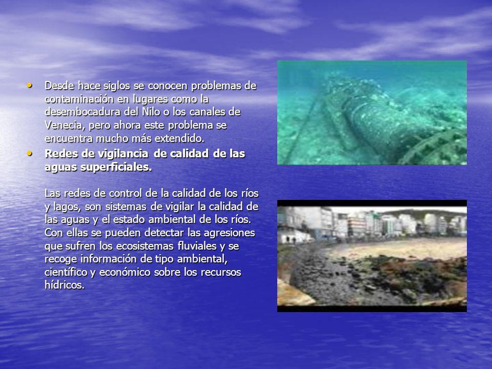 de la calidad de las aguas es una materia difícil, en la que se discute cuales son los mejores indicadores para evaluar el estado del agua.