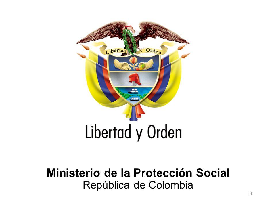Ministerio de la Protección Social República de Colombia 1