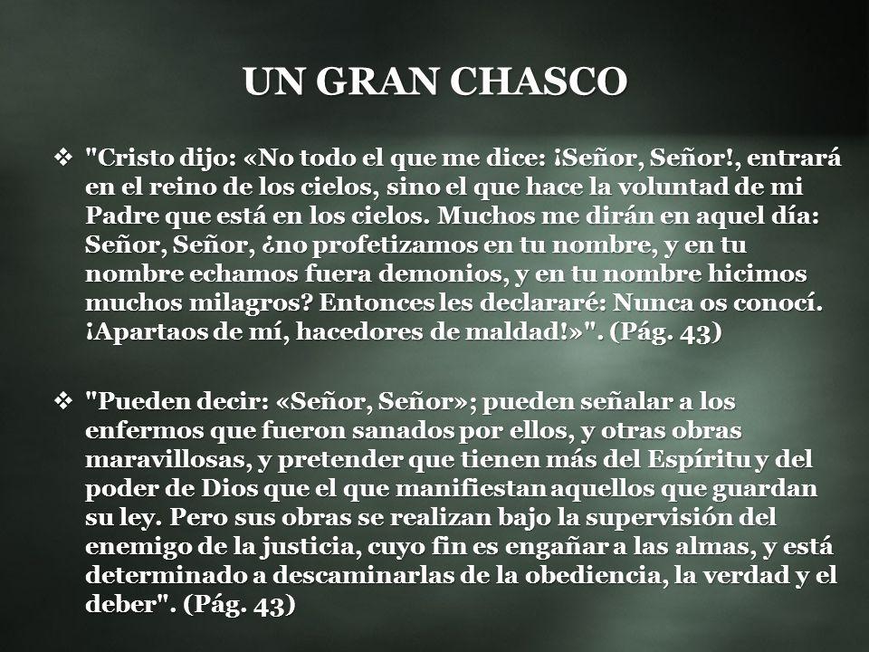 UN GRAN CHASCO