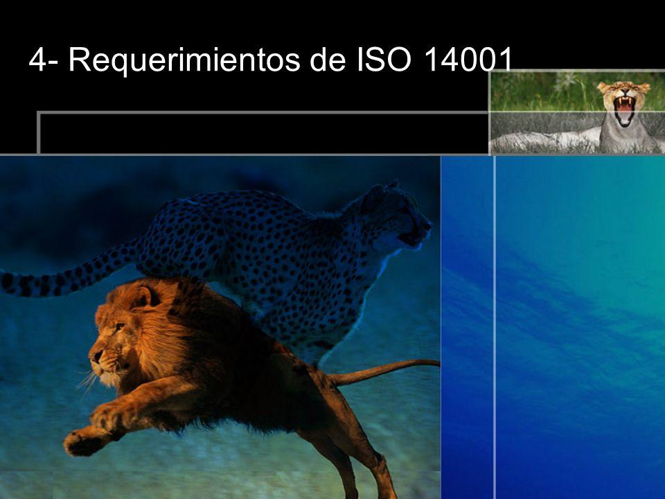 4- Requerimientos de ISO 14001