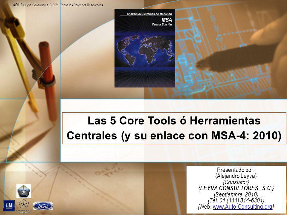 ©2010 Leyva Consultores, S.C.. Todos los Derechos Reservados Presentado por: {Alejandro Leyva} {Consultor} { LEYVA CONSULTORES, S.C. } {Septiembre, 20
