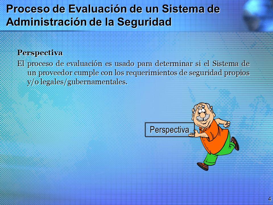 3 Evaluaciones de Sistemas de Administración de la Seguridad Aplicación La Evaluación SMSA puede ser usada o aplicada en diferentes formas y de acuerd