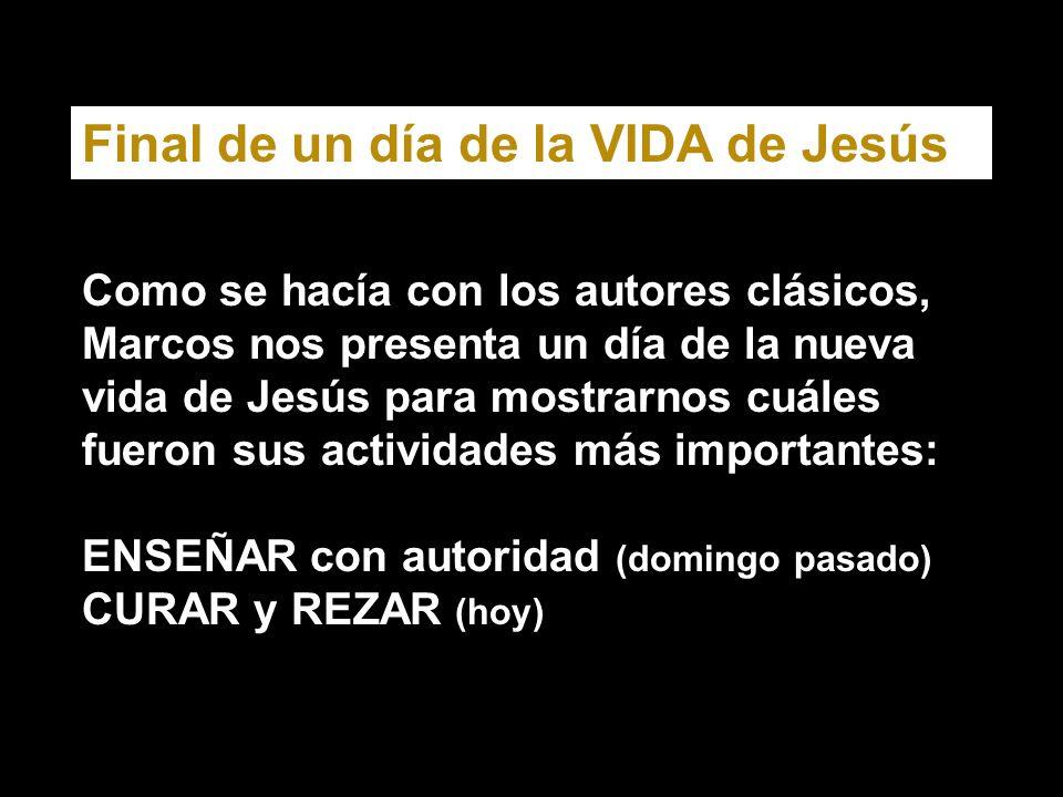 Señor Jesús, haz que la plegaria nos de coraje ante tantos resquebrajamientos sociales.