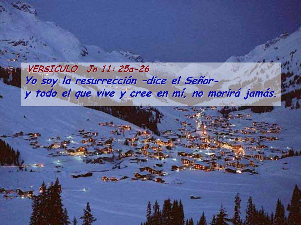 ( Del santo evangelio según san Juan ) Jn 11: 1-45 Había un enfermo, Lázaro, de Betania, pueblo de María y de su hermana Marta.