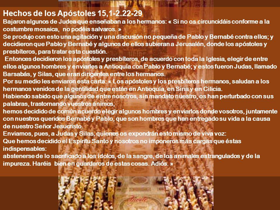 Ciclo C VI Domingo de Pascua 05 de mayo de 2013 Música: Resonemus (324) De la Liturgia Cristiana primitiva