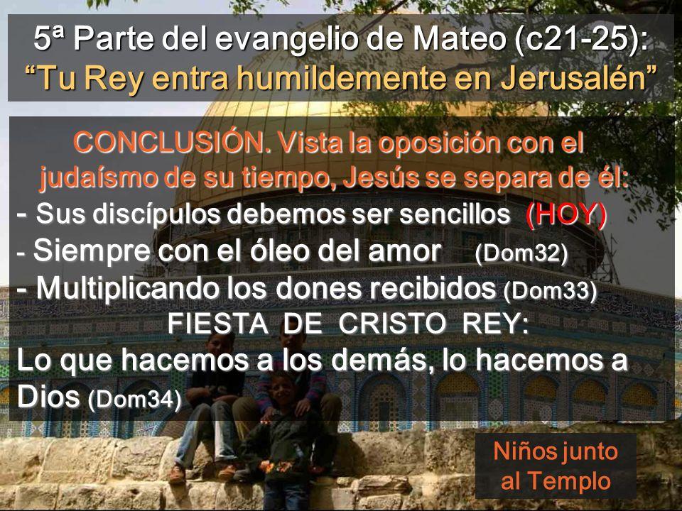 Escuchando Como un cordero de T. L. de Victoria, miremos la humildad de Jesús como ejemplo de comportamiento 31 AÑO c A Regina