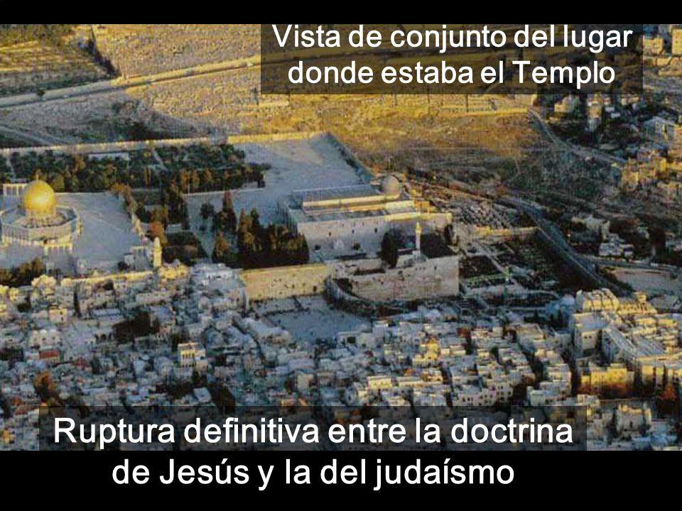 5ª Parte del evangelio de Mateo (c21-25): Tu Rey entra humildemente en Jerusalén CONCLUSIÓN. Vista la oposición con el judaísmo de su tiempo, Jesús se
