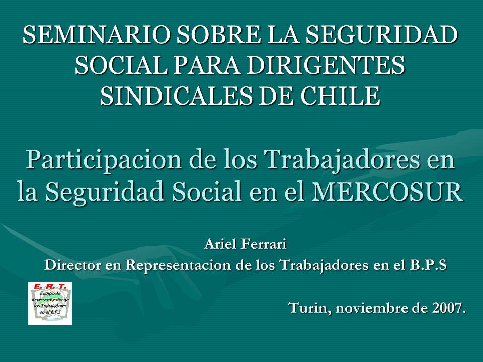 RESOLUCION DEL ENCUENTRO DE LA CCSCS Montevideo 2 y 3/06/2006 DIALOGO SOCIAL, fundamental a efectos de discutir y canalizar propuestas de Seguridad Social ( y empleo - convocatoria gobierno de Chile y Uruguay 28/04/05).