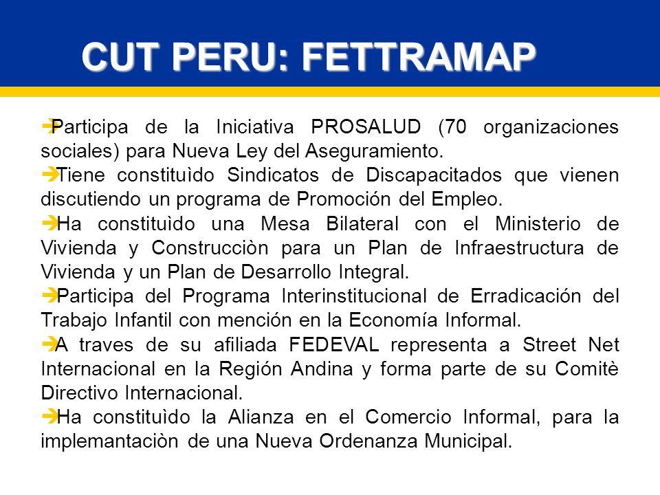 Participa de la Iniciativa PROSALUD (70 organizaciones sociales) para Nueva Ley del Aseguramiento.