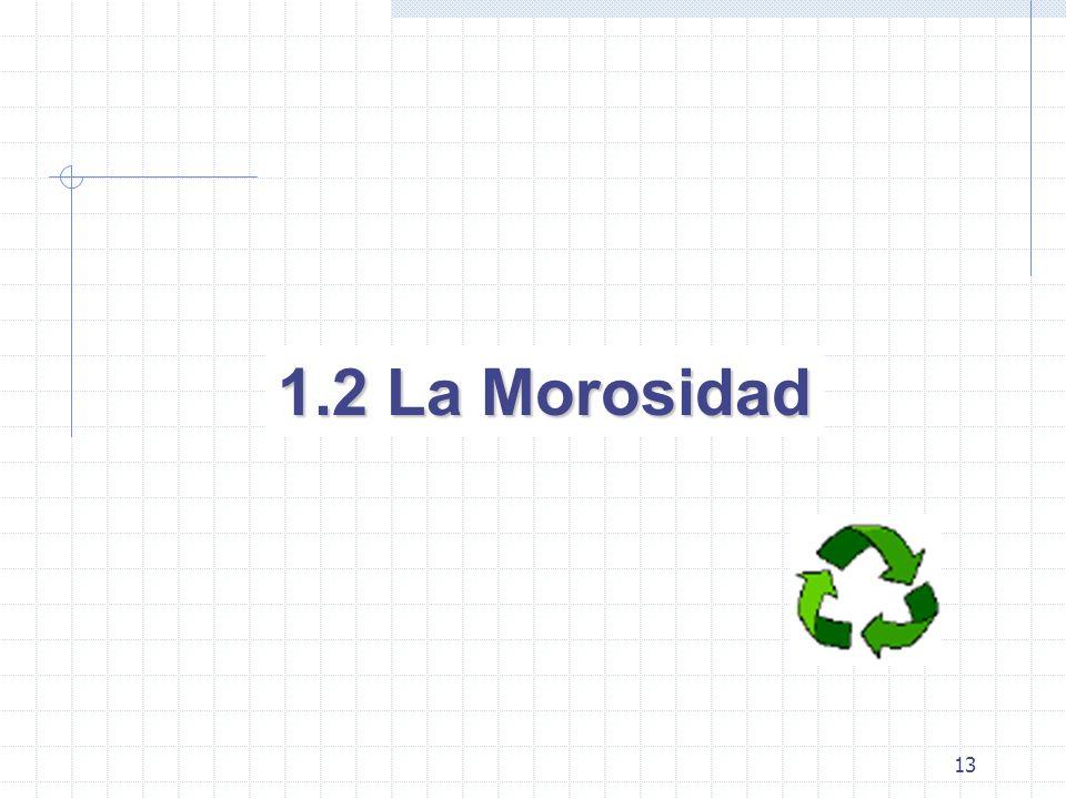 13 1.2 La Morosidad