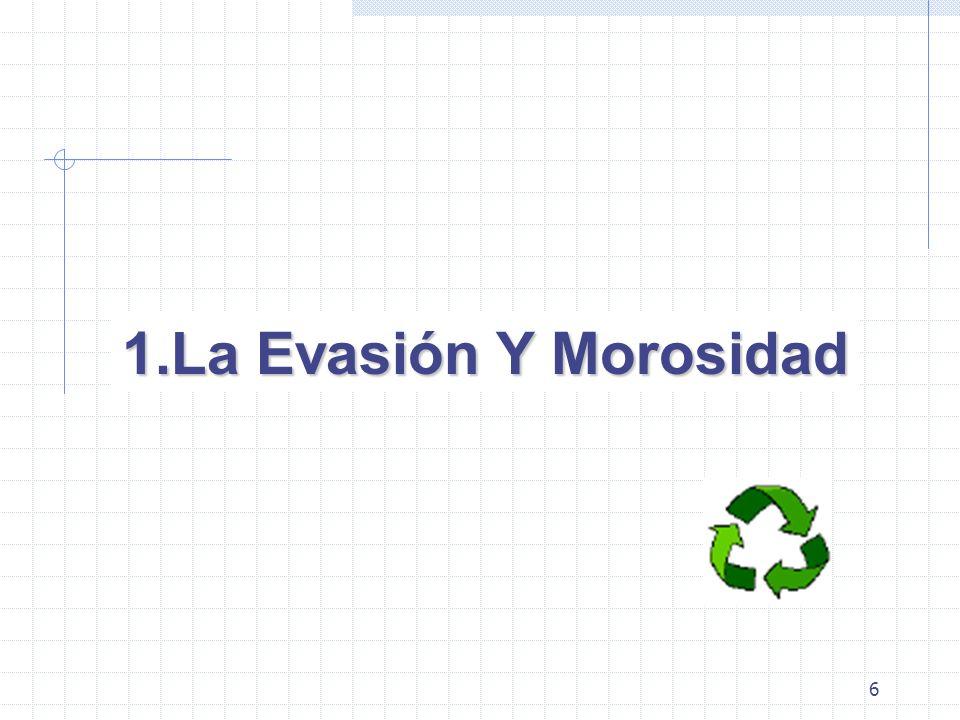 6 1.La Evasión Y Morosidad