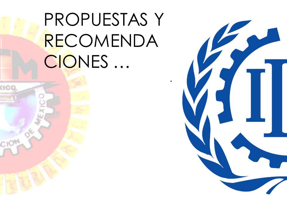 . PROPUESTAS Y RECOMENDA CIONES …